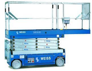 Închiriere nacelă electrică Weiss SAB B-137, 14 metri